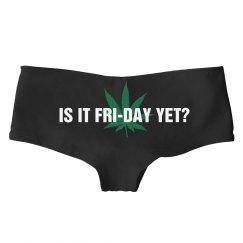 Friday Yet?