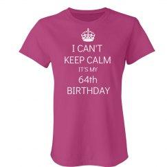 64th Birthday