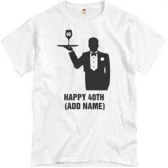 Happy 40th birthday shirt
