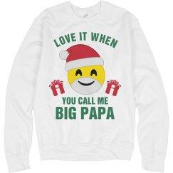 Christmas Emoji Big Papa