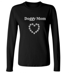 Doggy Mom Long Sleeve T