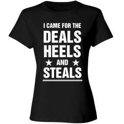Here For Deals Heels And Steals