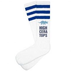 HIGHCERATOPS Blue Socks