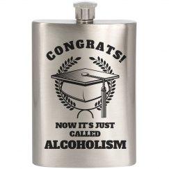 Congrats Alcoholic!