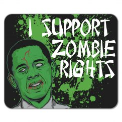 Zombie Rights Mousepad