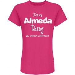 It's a Almeda thing