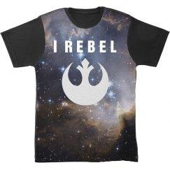 Galaxy Rebel Allover Print Shirt