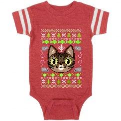 Meowy Christmas Bodysuit