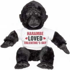 Harambe Loved Valentine's Day A Lot