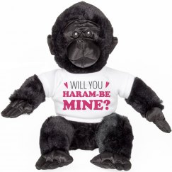 Will You Haram Be Mine Gorilla