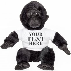 Custom Harambe Text Gorilla