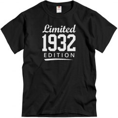 Limited 1932 edition