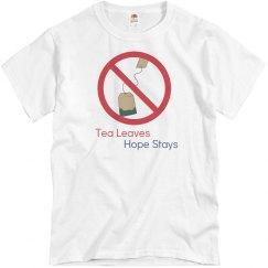 Tea Leaves Hope Stays