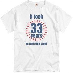 33rd birthday