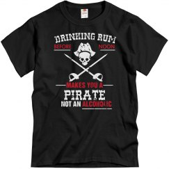 A Pirate Not Alcoholic