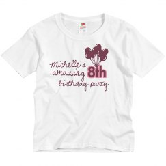 Michelle's Amazing 8th
