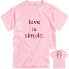 love is simple.