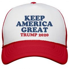 Keep America Great Reelect Trump!