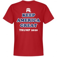 Keep America Great Trump Shirt 2020