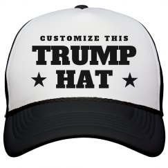 Custom Donald Trump Hat
