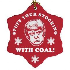 Donald Trump Dreaming Of Christmas