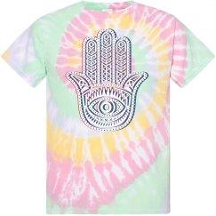 Hamsa Tie-Dye T-shirt