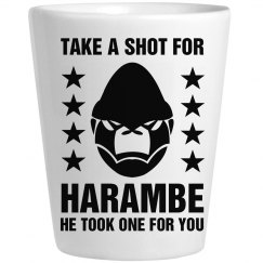 Take A Shot For Harambe