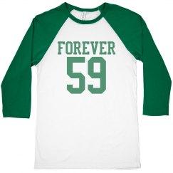 Forever 59 birthday shirt