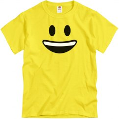 Funny Big Smiley Emoji Costume