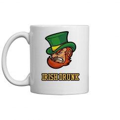 Irish Drunk St Patricks Drinkware