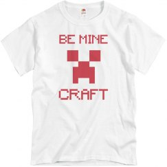 Be Mine Gamer Valentine's Day Tee
