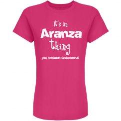 It's an aranza thing