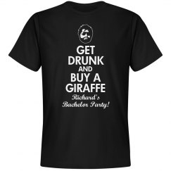 Bachelor Party Giraffe