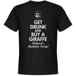 Bachelor Party Giraffe
