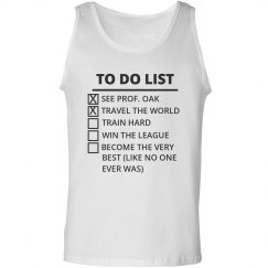 Trainer To Do List Tank