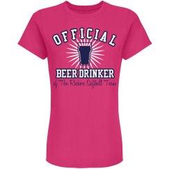 Official Softball Drinker