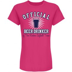 Official Softball Drinker