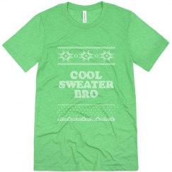 Cool Green Sweater