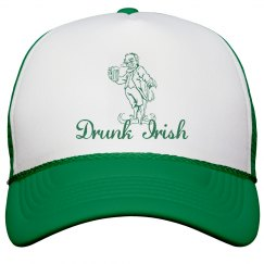 Drunk Irish St Patricks Hat