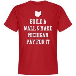 Build A Wall Funny Ohio Pride