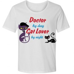 Doctor by Day Cat Lover by Night
