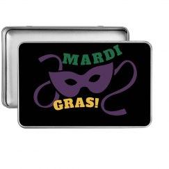 Mardi Gras Storage Tin