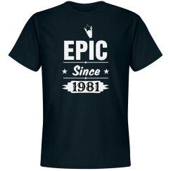 Epic since 1981