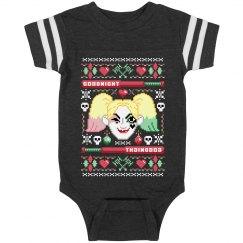 Harley Ugly Christmas Onesie