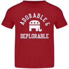 Adorable Deplorable Toddler