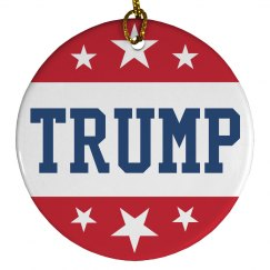 Donald Trump Political Ornament