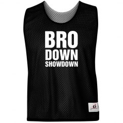 Bro Showdown Pinnie