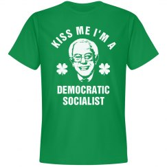 Kiss Me I'm Voting Bernie St Pat