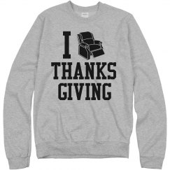 I Recline Thanksgiving
