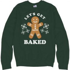 One Baked Gingerbread Man